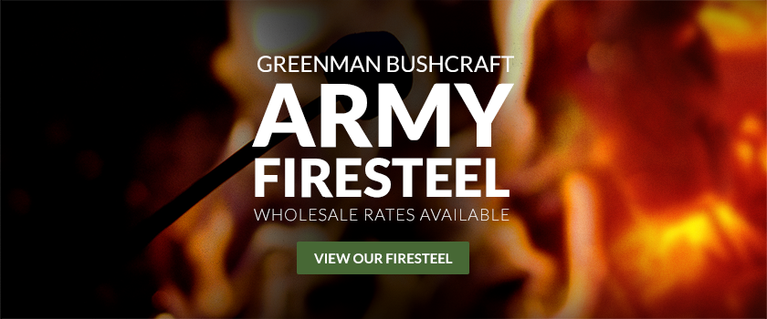 Greenman Bushcraft Army Firesteels