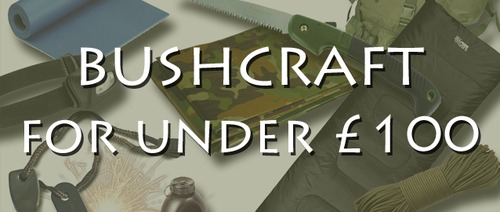 Bushcraft Start-up Kit for Under £100