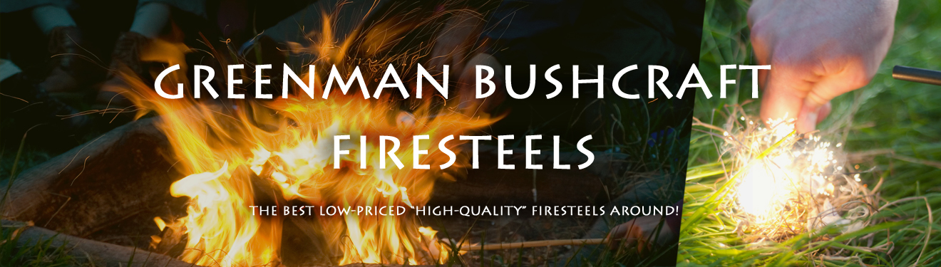 Greeman Bushcraft Army Firesteel is the only summer accessory you need