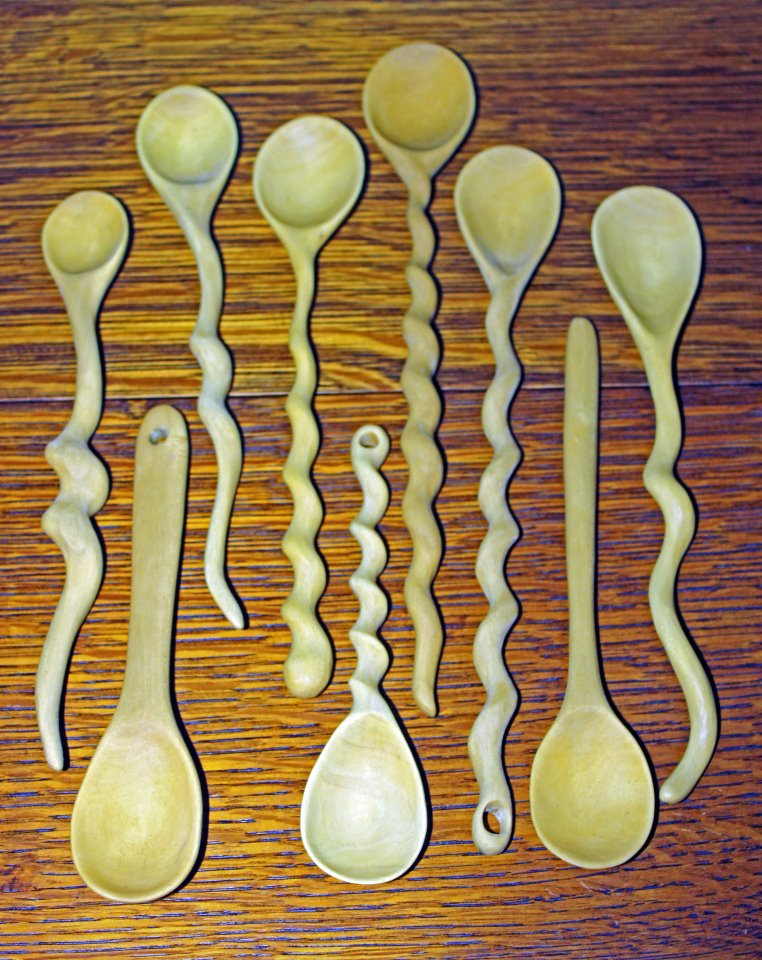 Spoons - by Phil
