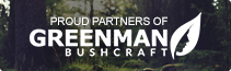 Proud Partners of Greenman Bushcraft