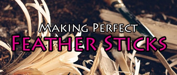 Making Perfect Feather Sticks
